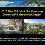 The Greenroofs.com 2015 Top 10 List of Hot Trends in Greenroof & Greenwall Design