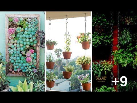 12 Bellas Maneras De Crear Un Jardín Vertical En Tu Hogar Que Enamorarán A Todo El Que Lo Vea…