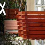 Make a hanging planter out of wood