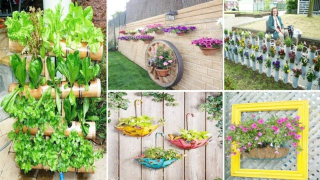 20 DIY Vertical Gardens That Give You Joy In Small Spaces | diy garden