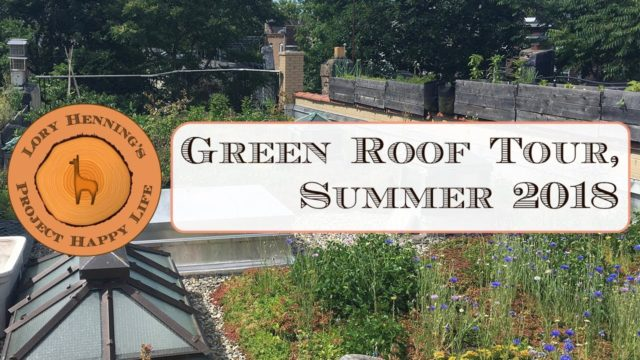 Green Roof Tour, Summer 2018