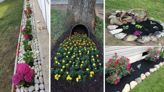 48 simple, easy and cheap diy garden landscaping ideas | garden ideas