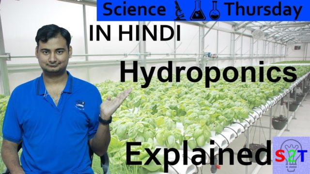 Science Thursday (Hydroponics Explained In HINDI)
