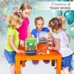 Merry Christmas 2019 : Gift Idea for Kids   Light-up Terrarium Kit for Kids LED Light on Lid