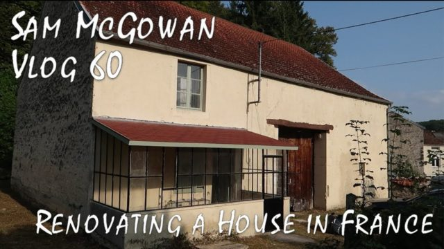 Renovating a House in France – Building a New Roof