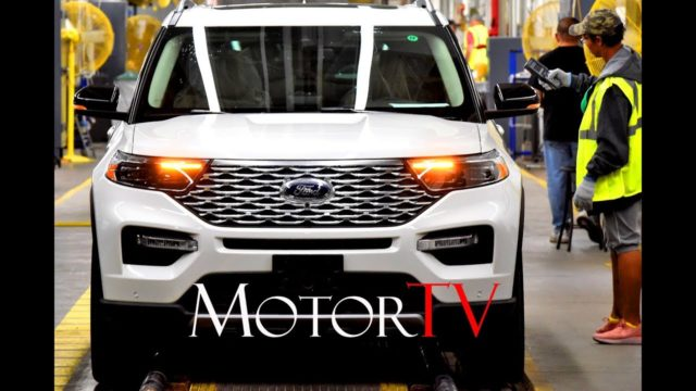 CAR FACTORY: All New 2020 FORD EXPLORER PRODUCTION l Chicago Assembly Plant l $1 Billion Investment