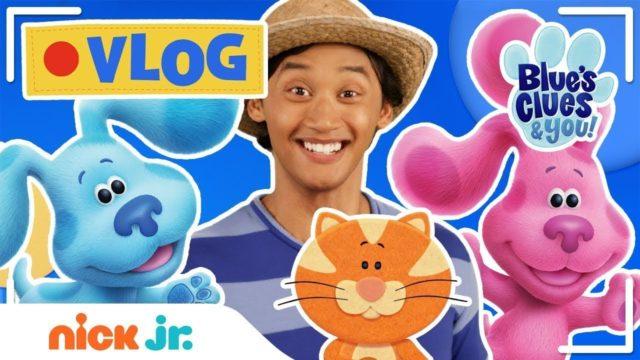Josh & Blue's VLOG! 📹 Ep 3: Garden Sing Along, Touring School & Mailtime w/ Blue's Clues! | Nick Jr.