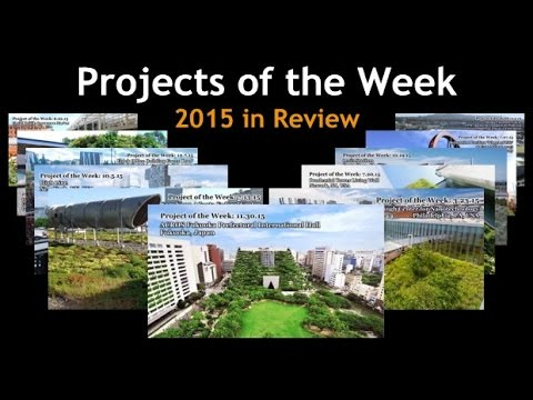 Greenroofs.com Projects of the Week 2015 in Review