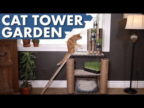 Indoor Cat Garden Tower Full Version