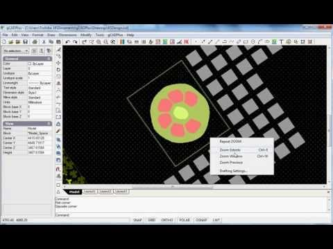 Learn landscape CAD – LearnToZoom&Pan
