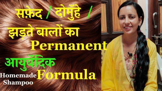 Homemade Shampoo | बालों को झड़ने से रोके | By Health City | Part-2