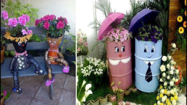 Top 90 Cute And Easy DIY Garden Crafts Ideas – DIY Garden