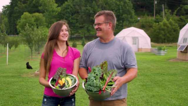 Growing Organic Food with Garden Towers: Clark's Family Homestead in Brown County, Indiana