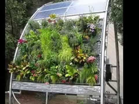 Easy hydroponic vertical garden design ideas