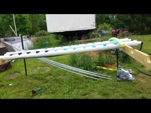 Hydrophonics system Test 1
