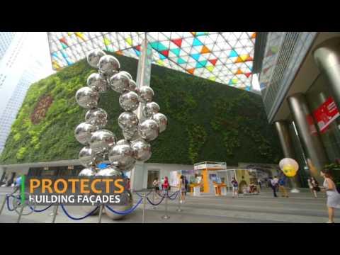 Terrazas verdes y jardines verticales en Singapur – Sustentabilidad y biodiversidad