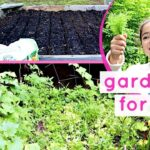 HOW TO START A GARDEN   Gardening for kids