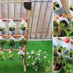 Amazing Vertical Garden, DIY Vertical Vegetable Garden from plastic bottles for Balcony