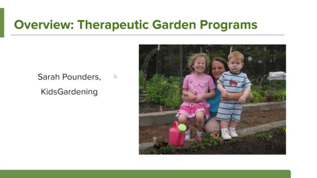 The Therapeutic Value of Gardening for Children