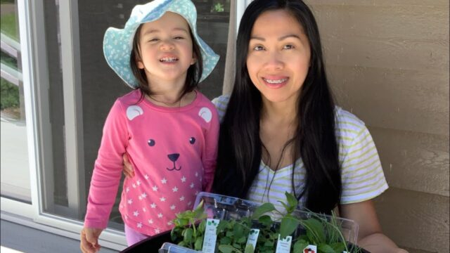 Teaching Kids To Garden – Grow A Pizza Garden! #Stayhome