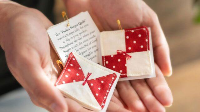 How to Make a Pocket Prayer Quilt | a Shabby Fabrics Tutorial