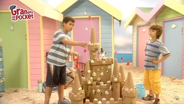 Grandpa in My Pocket – The Most Splendiferous Sandcastle in Sunnysands | Series 1