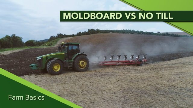 Farm Basics #1103 Moldboard Plow vs No Till (Air Date 5-26-19)