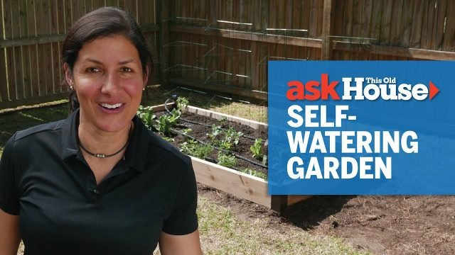 How to Build a Self-Watering Vegetable Garden | Ask This Old House