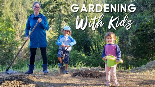 GARDENING WITH KIDS: Beginners Try to Grow Food During Pandemic