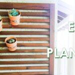 DIY Succulent Planter |  DIY WALL PLANTER