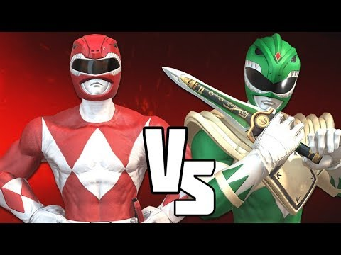 Green Ranger vs Red Ranger – Power Rangers Battle For the Grid VERSUS