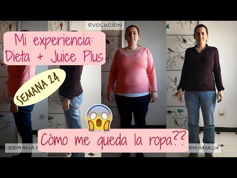 Semana 24: Mi experiencia haciendo dieta y con Juice Plus… Cómo me queda la ropa??