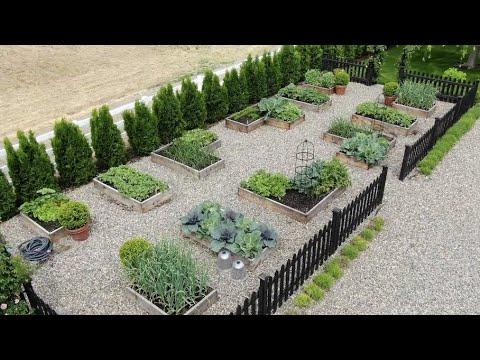 My Vegetable Garden Layout & Tour! 👩🌾🥦🍓// Garden Answer