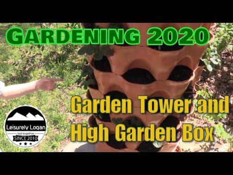 Garden Tower and High Garden Box update