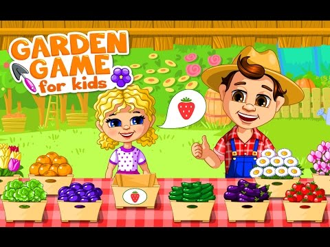 Garden kids – NEW game! Gardening for kids #bubadu#