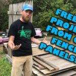DIY Raised Garden Planter Boxes From Old Wood Fence Panels Part 1: Prepping The Materials