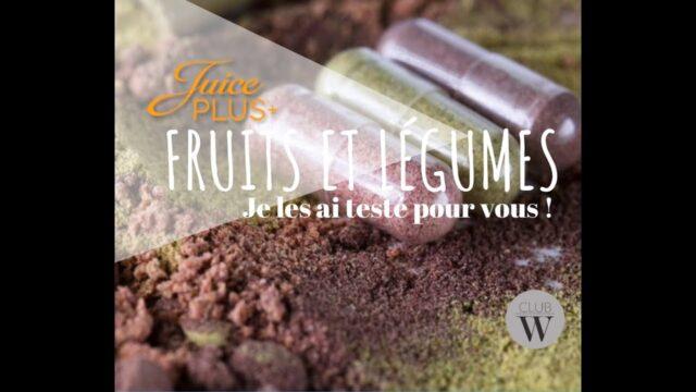 Gélules Fruits et légumes Juice Plus +