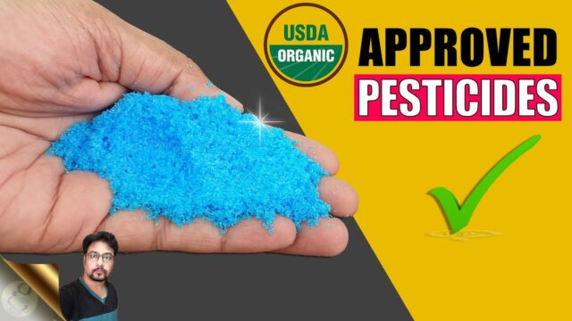 LIST OF APPROVED PESTICIDES FOR ORGANIC VEGETABLE GARDENING
