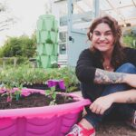 $7 Kiddie Pool Raised Garden Bed | CHEAP Container Garden Ideas | Roots and Refuge
