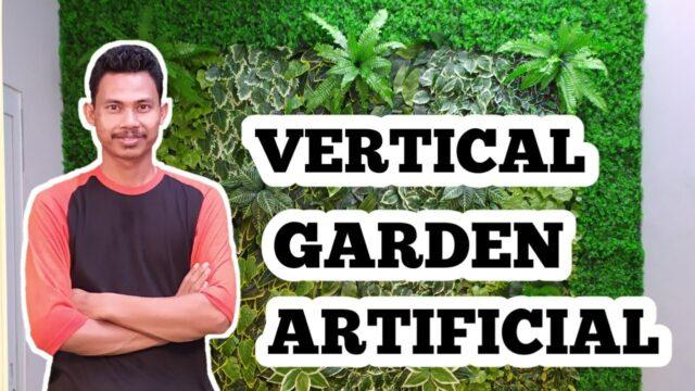 Proses pembuatan taman vertikal – vertical garden artificial
