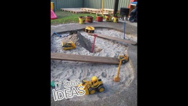 D' Sign Ideas – 25 Fun Outdoor Playground Ideas For Kids