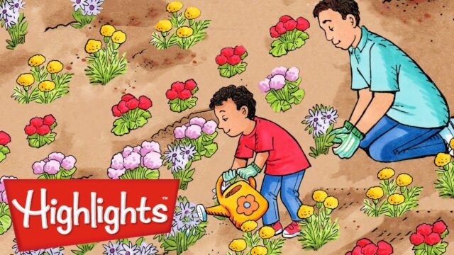 Highlights High Five | Story Time: Gardening | Full Episode | Kids Videos | FUN with a Purpose