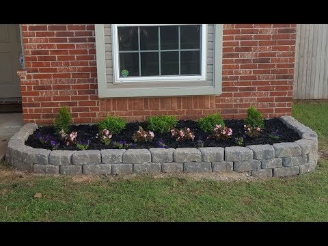 Garden/Retaining Wall From Lowes