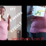 My 4 weeks weightloss results| with Juiceplus| 90days challenge