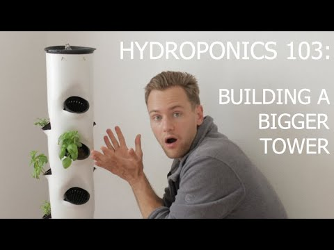 Hydroponics 103: How to Build Your Own Hydroponics Vertical Farming System