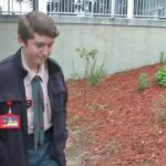 Clermont Boy Scout creates project to rebuild elementary school garden