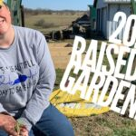 2020 Raised Bed Vegetable Gardening for Beginners- Building Pine Raised Beds & Planting Onion Plants