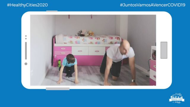 Healthy Cities: Ejercicio físico en casa con niños IV