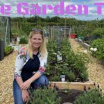 Garden Tour At Gwenyn Gruffydd In June. Vegetable Gardening In Wales UK.