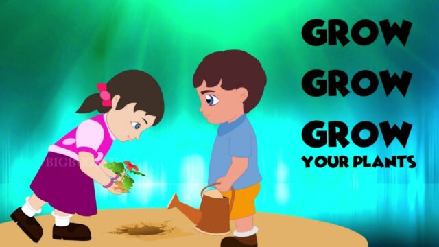 Grow Your Plants Nursery Rhymes | traditional nursery rhymes collection – BB-03